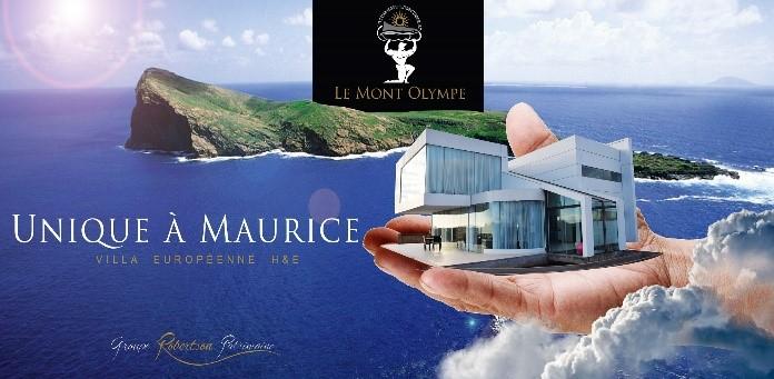 Accéssible aux étrangers- Mont Olympe, Villas HQE. Investissement immobilier – Ile Maurice