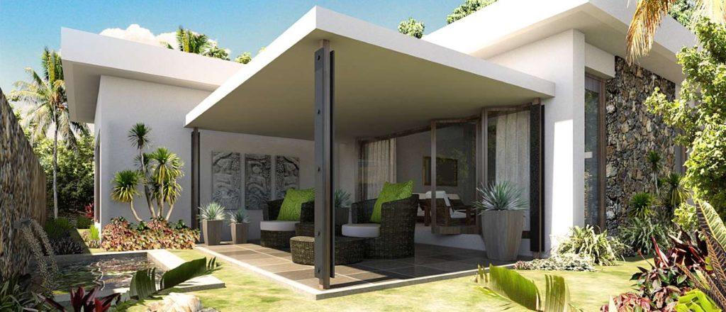 Acheter une villa à l'ile Maurice-Villa Corail Bleu- 3 chambres ensuite- jardin-piscine-revente- 720 000 Euros