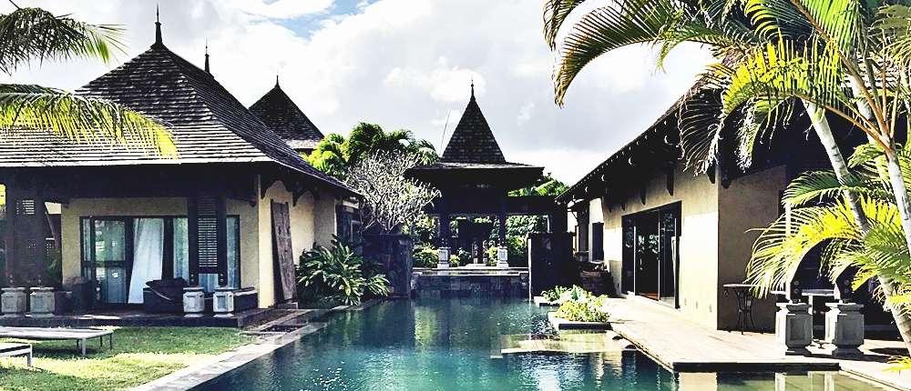 Acheter une villa à l'ile Maurice-Villa Belle Rivière- 5 chambres en suite- complexe IRS résidence hôtelier-ile Maurice