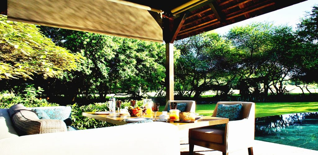 villa sur golf à l'île Maurice