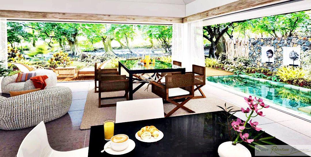 Domaine Dyhana : Villas de prestige entre nature et plage tropicale à l'ile Maurice